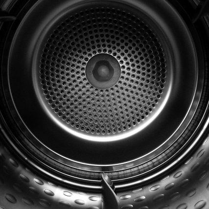 insdie washing machine metal drum